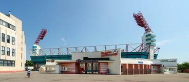中央体育场,戈梅利,白俄罗斯 图库摄影
