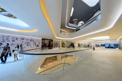 中央使馆它是商业区,拥有的中央Pattana 免版税库存照片