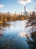 中央公园冬天 图库摄影