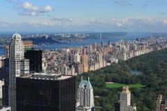 中央公园副上面的西部 免版税库存照片