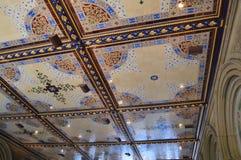 中央公园天花板 库存图片