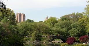 中央公园春天 免版税库存图片