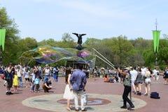 中央公园春天 图库摄影