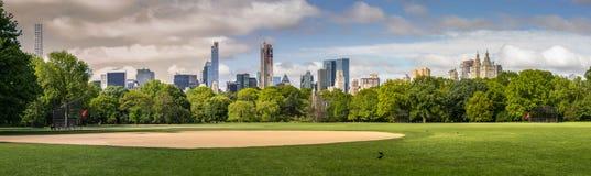 中央公园棒球场NYC 库存图片