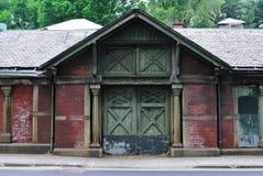 中央公园棚子 免版税库存图片