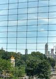 中央公园看法  库存照片