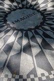 中央公园草莓领域 免版税库存照片
