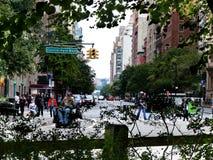 中央公园西边 免版税图库摄影
