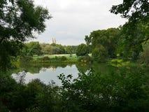 中央公园视图在曼哈顿 图库摄影