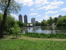 中央公园视图 免版税库存照片