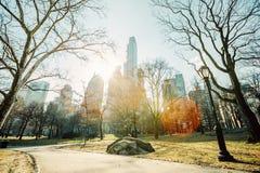 中央公园,曼哈顿,纽约 免版税图库摄影