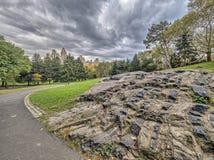 中央公园,纽约夏天 库存照片