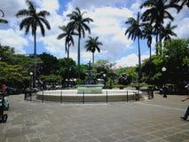 中央公园 埃雷迪亚,哥斯达黎加 免版税库存照片