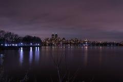 中央公园-曼哈顿纽约 图库摄影