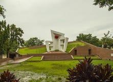 中央受难者纪念碑,锡尔赫特市,孟加拉国 免版税库存图片