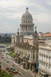 中央哈瓦那视图 库存照片