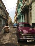 中央哈瓦那 库存照片