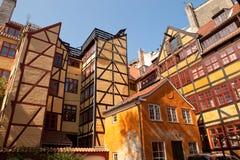 中央哥本哈根丹麦 库存图片