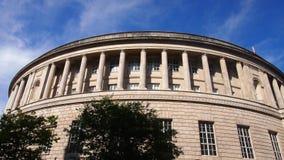 中央图书馆,曼彻斯特,英国 免版税图库摄影