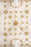 中央塔的天花板在约克大教堂(大教堂)的 免版税图库摄影