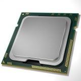 中央处理单元CPU 3d翻译 图象例证 库存图片
