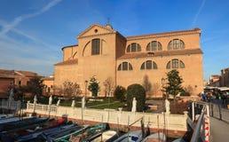 中央寺院二圣玛丽亚,基奥贾 库存图片
