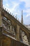 中央寺院二米兰 免版税库存图片
