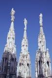 中央寺院二米兰 免版税库存照片