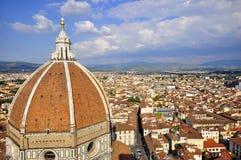 中央寺院佛罗伦萨意大利 图库摄影