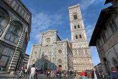 中央寺院佛罗伦萨意大利 免版税库存照片