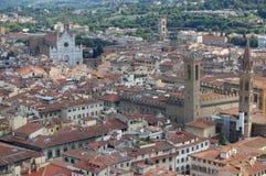 中央寺院佛罗伦萨视图 免版税库存照片