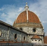中央寺院佛罗伦萨 免版税库存照片