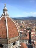 中央寺院佛罗伦萨hdr纵向 库存图片