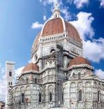 中央寺院圣塔玛丽亚Del Fiore。 佛罗伦萨,意大利 库存图片