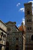中央寺院在佛罗伦萨,意大利 免版税图库摄影