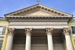 中央寺院在库尼奥,意大利 库存图片