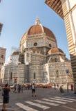 中央寺院在Florece,意大利 库存照片