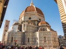 中央寺院在Florece,意大利 免版税库存照片