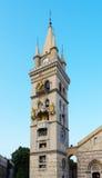 中央寺院墨西拿西西里岛意大利 图库摄影
