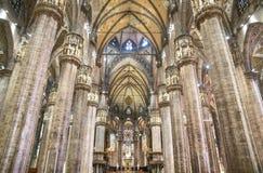 中央寺院大教堂的内部 免版税图库摄影