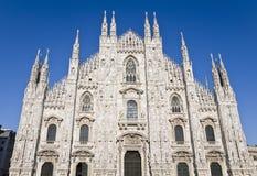 中央寺院大教堂,米兰,意大利 免版税库存照片