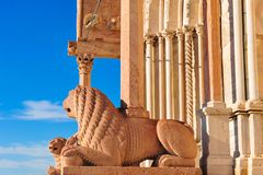 中央寺院安科纳意大利 免版税库存图片