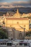 中央寺院宽容大教堂在墨西拿 免版税库存图片