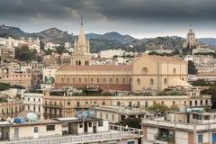 中央寺院宽容大教堂在墨西拿 库存照片