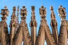 中央寺院尖顶 图库摄影