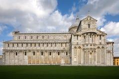 中央寺院意大利比萨 免版税库存照片
