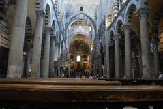 中央寺院意大利比萨 库存图片