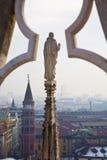 中央寺院意大利米兰 图库摄影