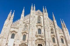 中央寺院意大利米兰 免版税库存图片