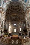 中央寺院意大利mantua 库存图片